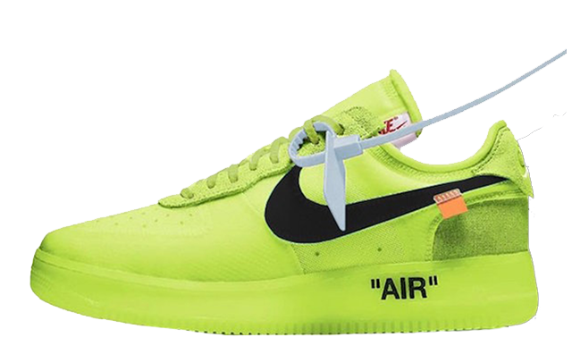 Off White x Nike Air Force 1 Volt Where To Buy AO4606