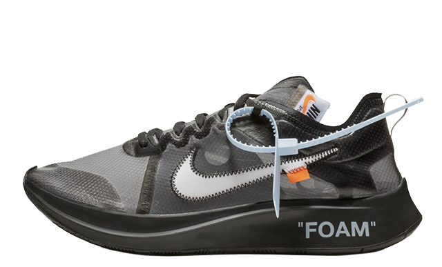 Off-White x Nike Zoom Fly SP Black