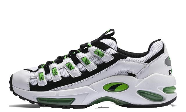 PUMA Cell Endura White Green 369633-02