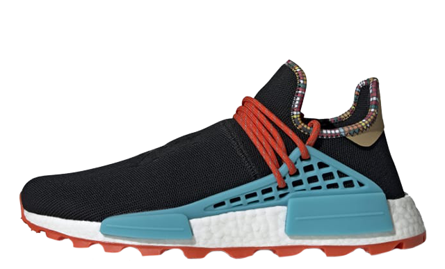 Pharrell x adidas Hu NMD Inspiration Pack Black EE7582