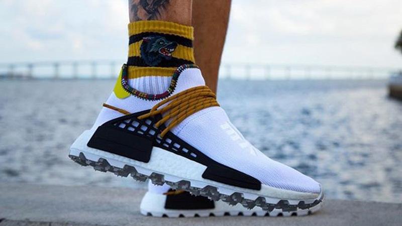 x White SOLARHU NMD Pack Pharrell Inspiration adidas