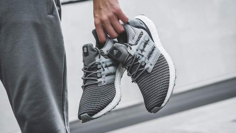 Undefeated x adidas Ultra Boost Grey