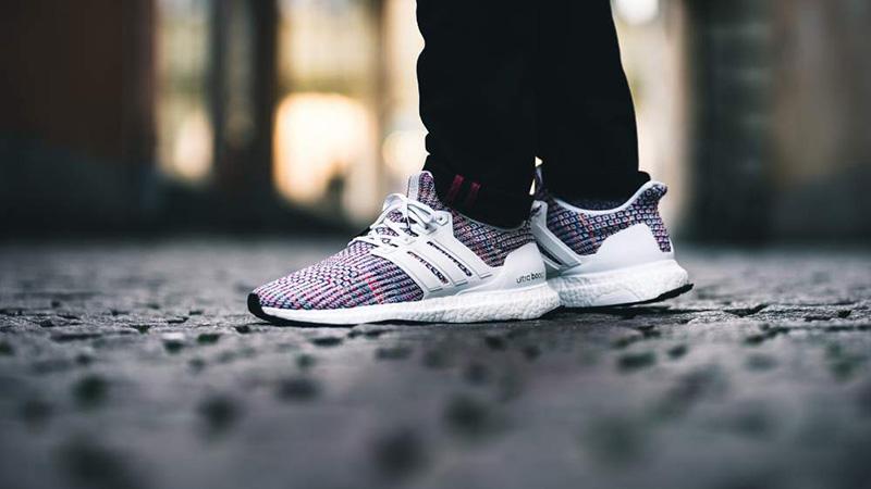 Adidas ultra boost white multicolor NWT