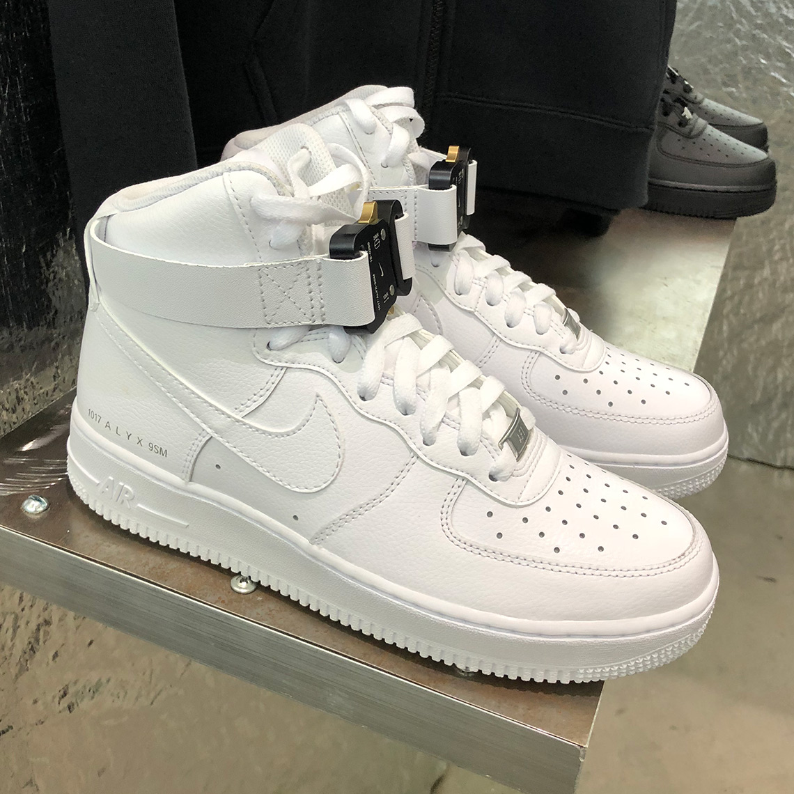 ALYX Reveal The Nike Air Force 1 High At Hypefest | The Sole