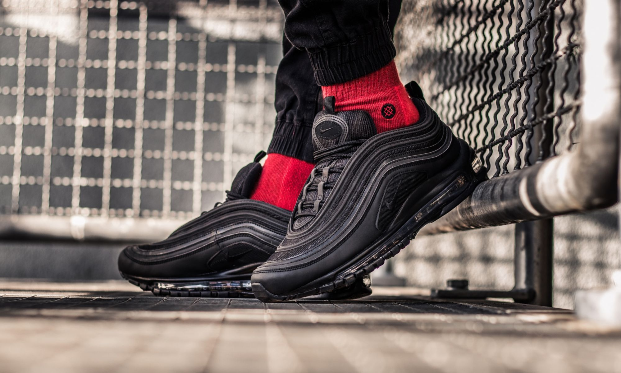 The Nike Air Max 97 'Triple Black' Is The Ultimate Sneaker For Autumn