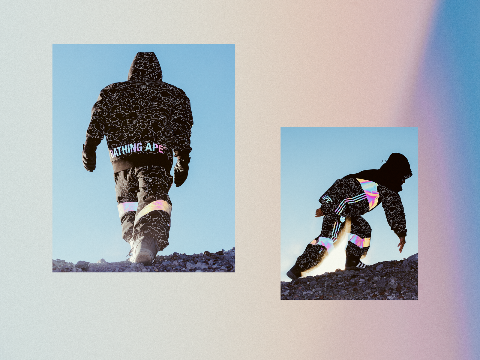adidas And BAPE Hit The Slopes For Their Latest Collab