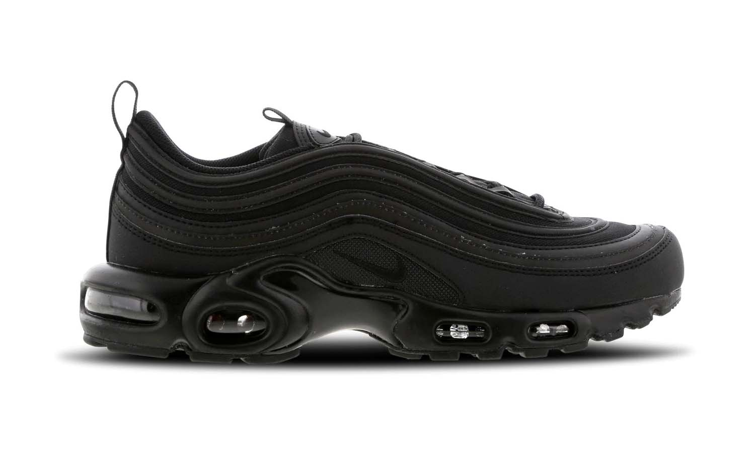The Nike Air Max Plus 97 Triple Black Is The Ultimate Hybrid