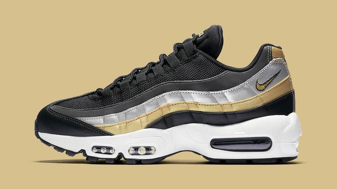Nike Gives The Air Max 95 A Luxe Metallic Makeover