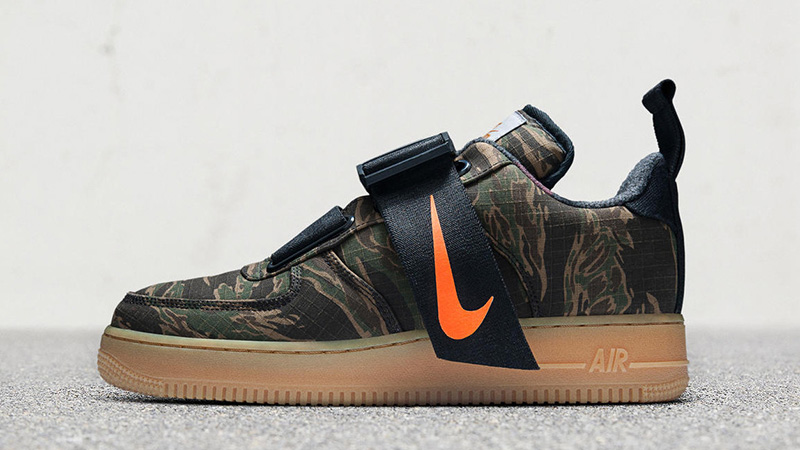 fast delivery super cheap classic style Carhartt x Nike Air Force 1 Low Utility Camo Green - Where To Buy ...