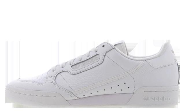 adidas Continental 80 Triple White