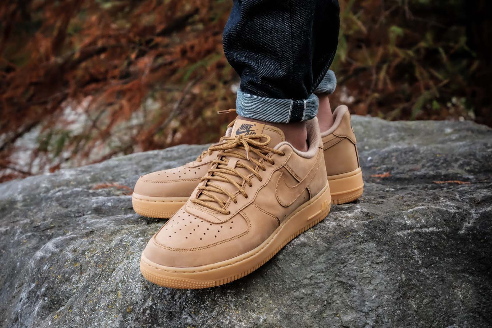 Winter Ready Nike Air Force 1 'Flax