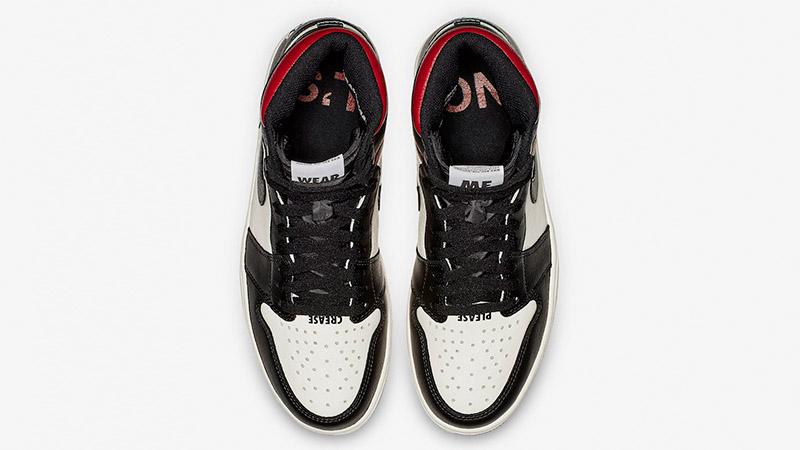 Jordan 1 Not For Resale Sail Black