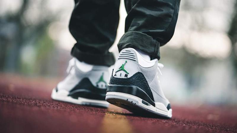 Air Jordan 3 Chlorophyll Tinker Now