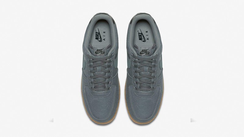 grey air force 1 gum sole