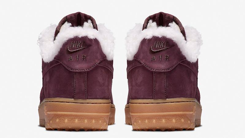 Nike Air Force 1 Premium Winter Burgundy