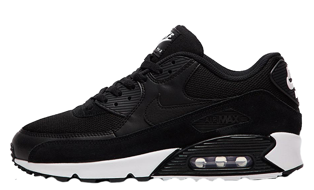black and white air max