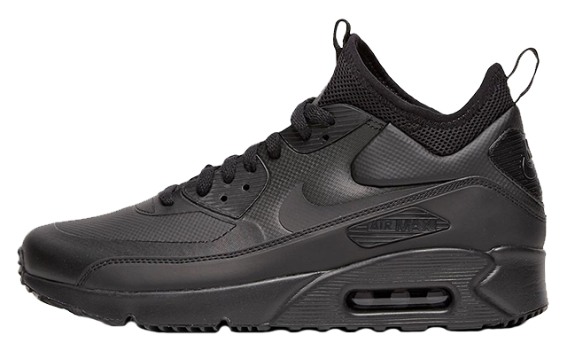 Nike Air Max 90 Ultra Mid Winter Black   Where To Buy   924458-004 ...