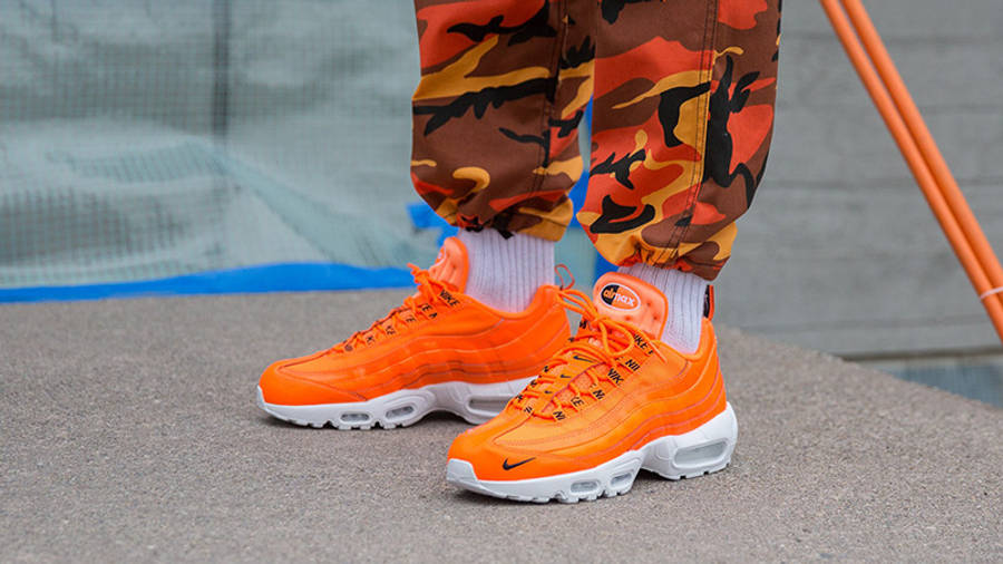 Nike Air Max 95 Premium Orange | Where To Buy | 538416-801 | The ...