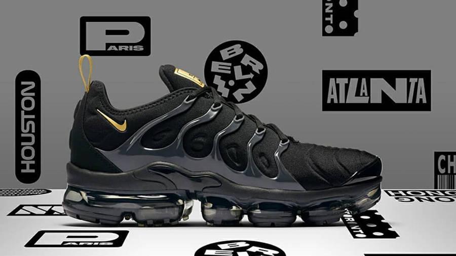 fingir cien Humillar  Nike Air VaporMax Plus Black Gold Footlocker Exclusive | Where To Buy |  BQ5068-001 | The Sole Supplier