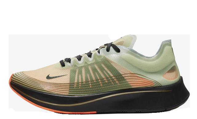 Nike Zoom Fly SP Olive Black AJ9282-200