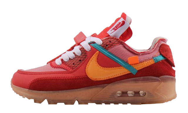 Off-White x Nike Air Max 90 University Red | AA7293-600