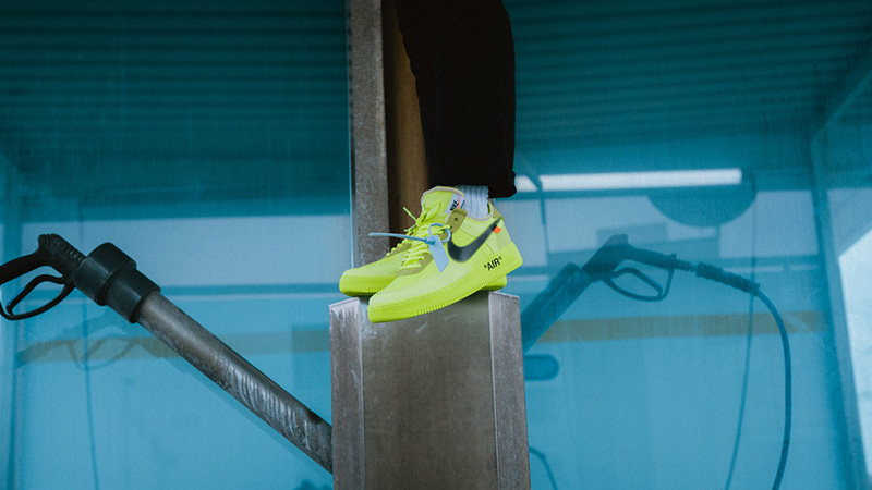 Off White X Nike Air Force 1 Volt Where To Buy Ao4606 700