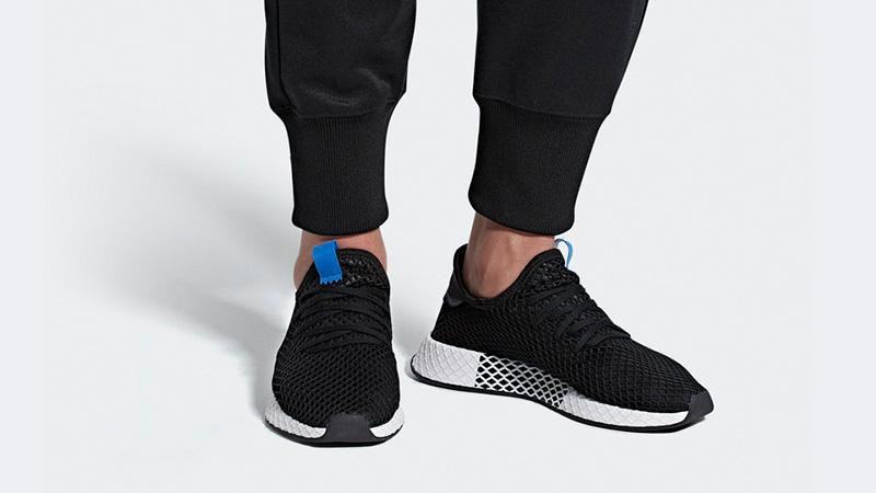 adidas Deerupt Black Blue   Where To