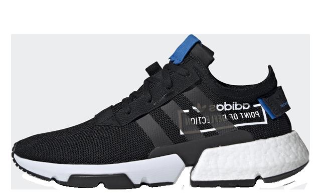 adidas POD S3 1 Black Blue CG6884