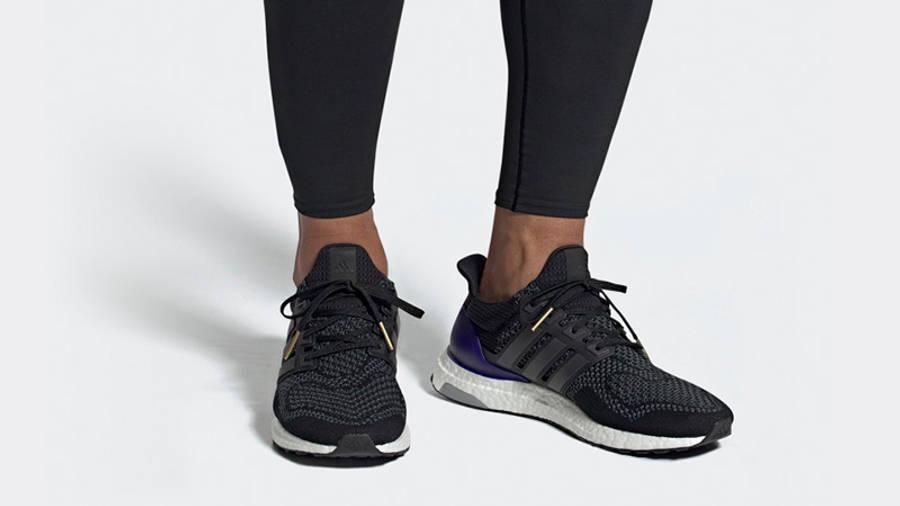 adidas Ultra Boost Black Purple   Where