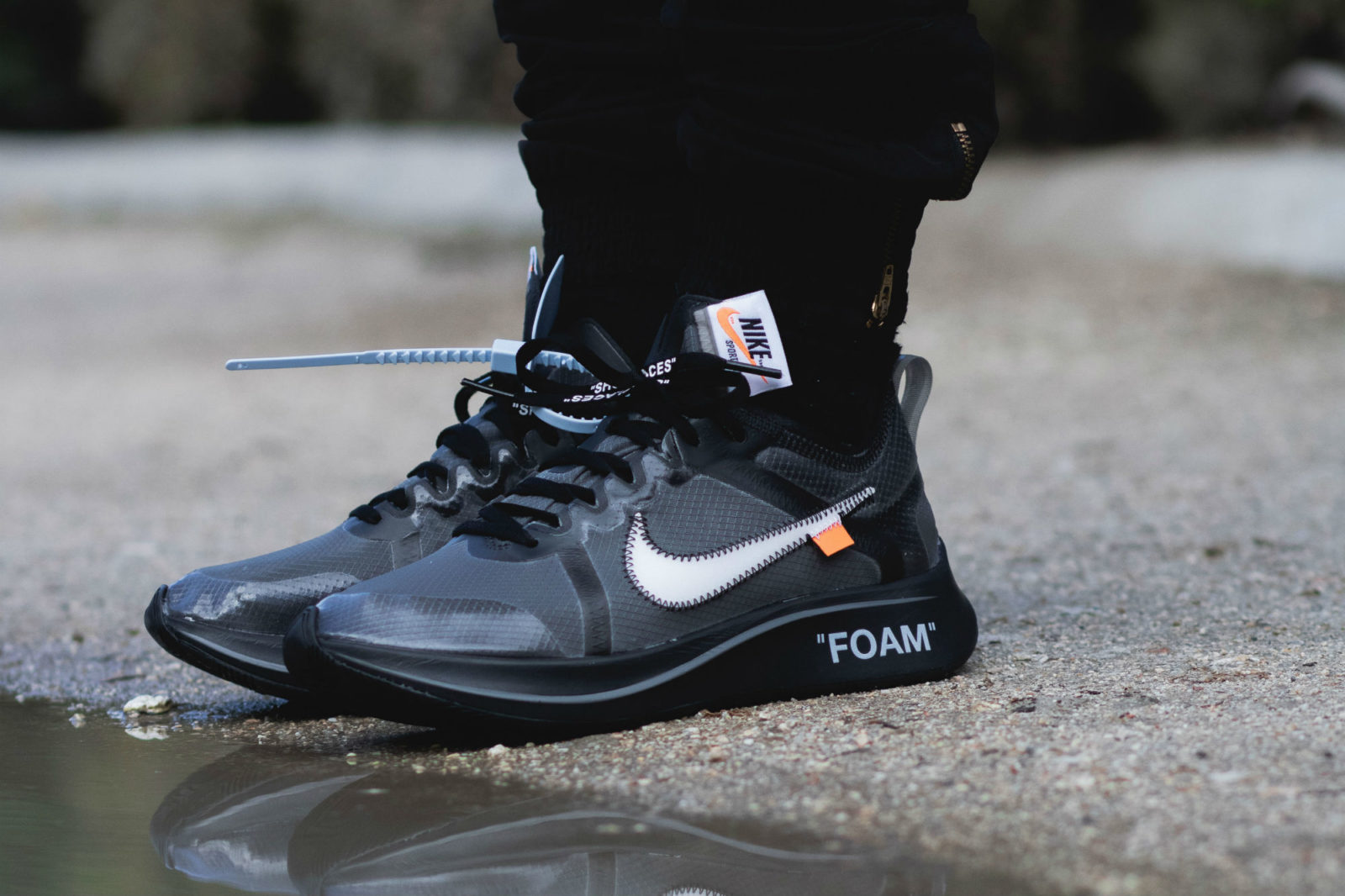 x Nike Zoom Fly 'Black' And 'Pink
