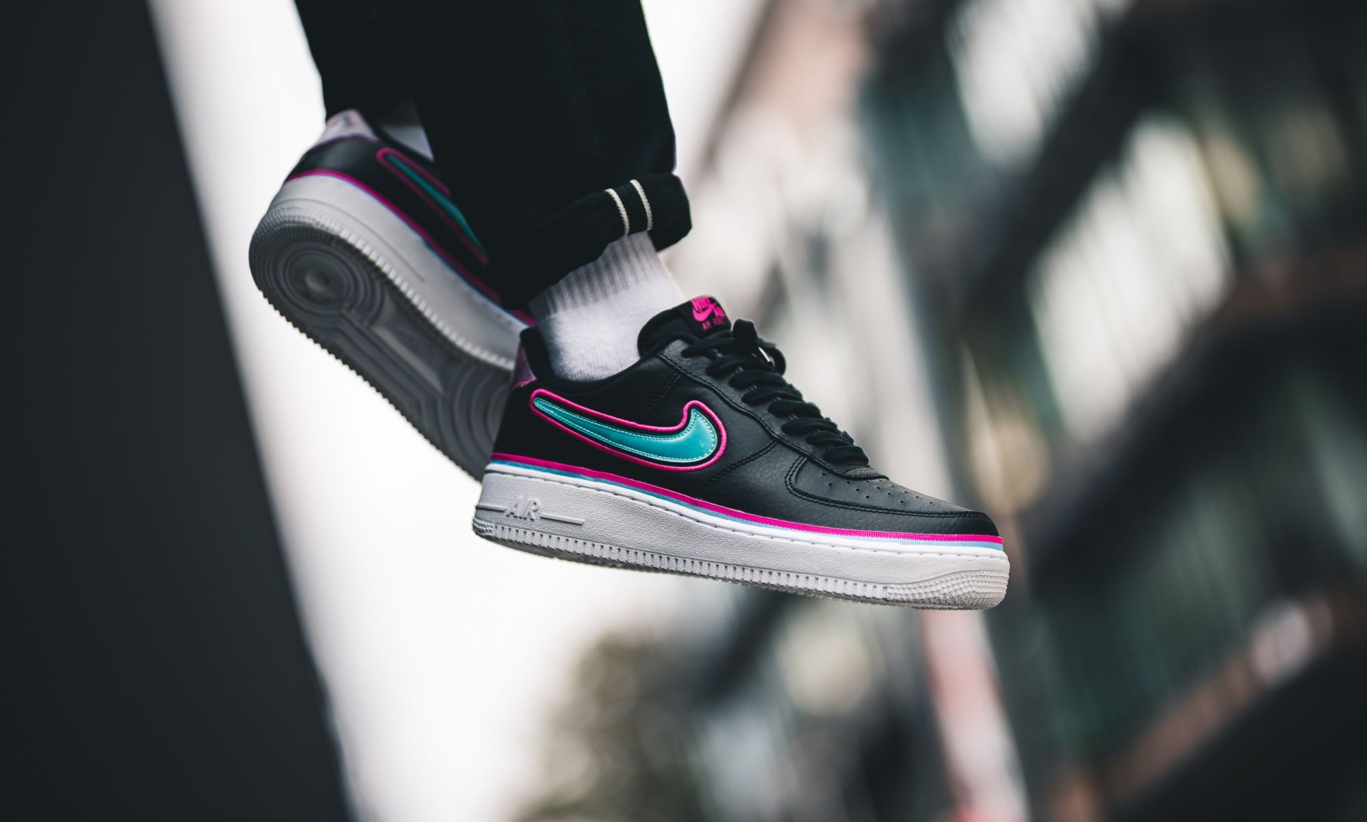 This Nike Air Force 1 Low Is Perfect For Miami South Beach