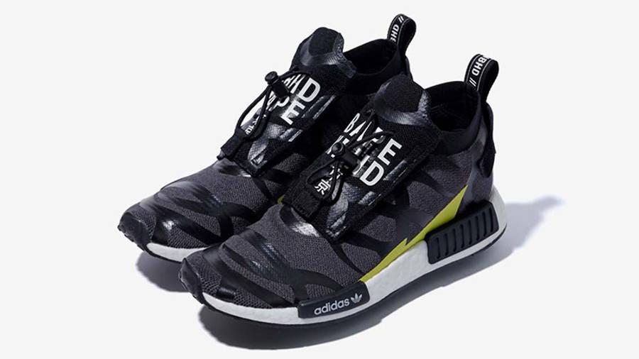 bestia léxico Diálogo  BAPE x NEIGHBORHOOD x adidas NMD STLT Black   Where To Buy   EE9702   The  Sole Supplier