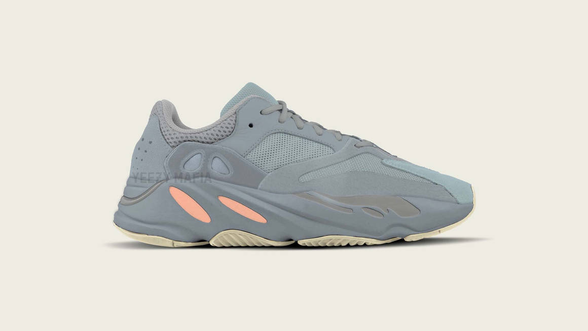 The adidas Yeezy Boost 700 Surfaces In A Unique 'Inertia' Colourway
