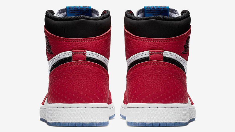 venta oficial muy elogiado hermoso estilo Jordan 1 Spider-Man - Where To Buy - 575441-602 | The Sole Supplier
