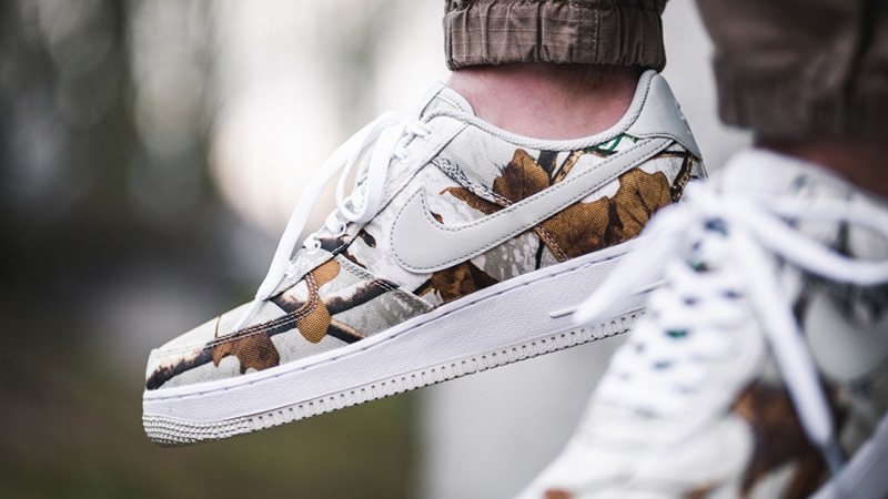 The Nike Air Force 1 '07 Lv8 'realtree' Camouflage