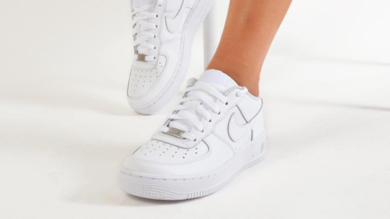 Económico apoyo tono  Nike Air Force 1 Low GS White   Where To Buy   314192-117   The Sole  Supplier