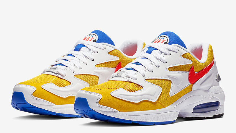 Nike Air Max 2 Light Gold White AO1741-700 03