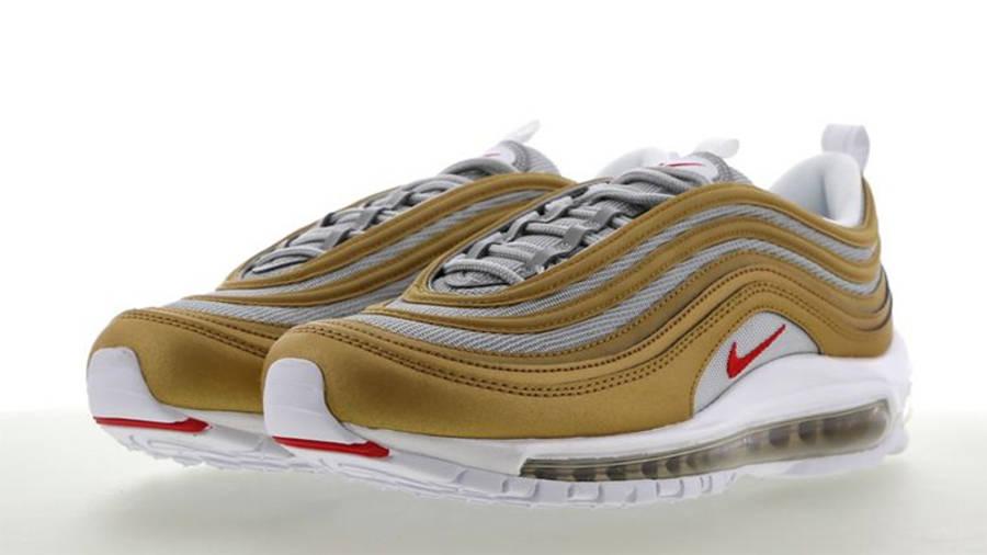 célula dar a entender Vigilancia  Nike Air Max 97 Metallic Gold Silver | Where To Buy | BV0306-700 | The Sole  Supplier