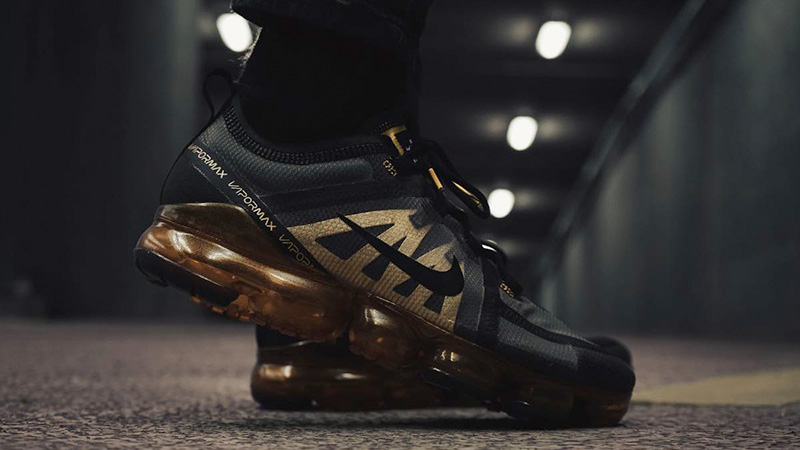Nike Air VaporMax 2019 Black Gold