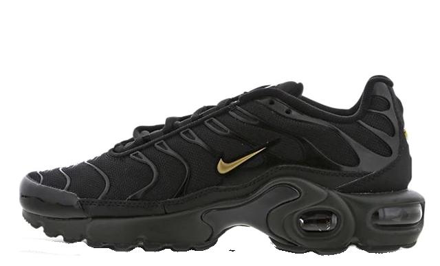Nike TN Air Max Plus GS Black Gold | Where To Buy | TBC | The Sole ...