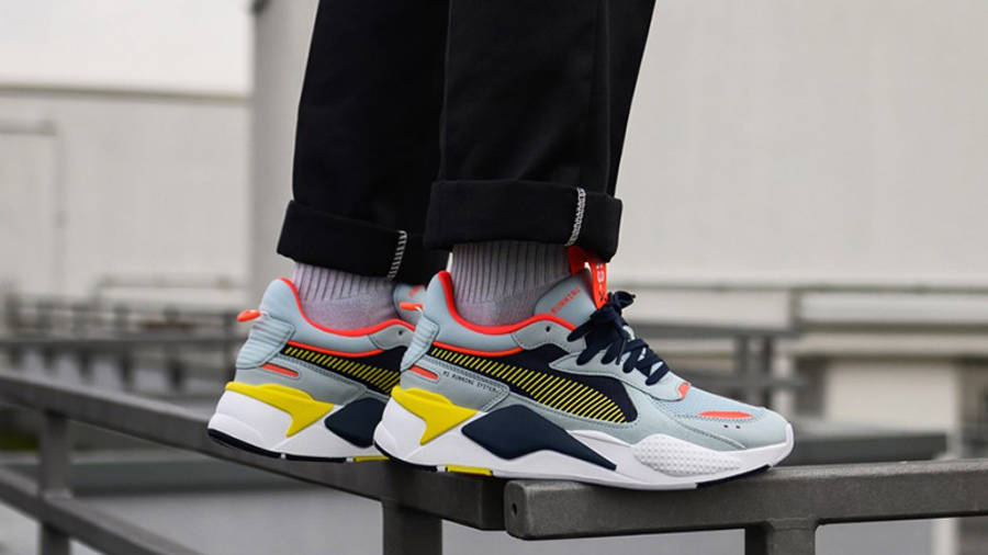 Limpiar el piso horizonte antiguo  PUMA RS-X Reinvention Light Sky Peacoat - Where To Buy - 369579-03 | The  Sole Supplier