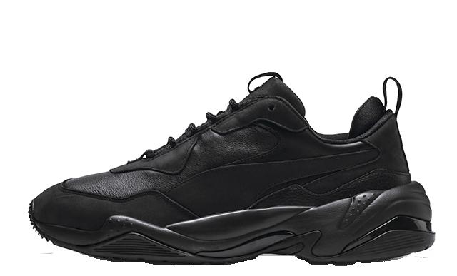 Puma Thunder Leather Black 370682-02