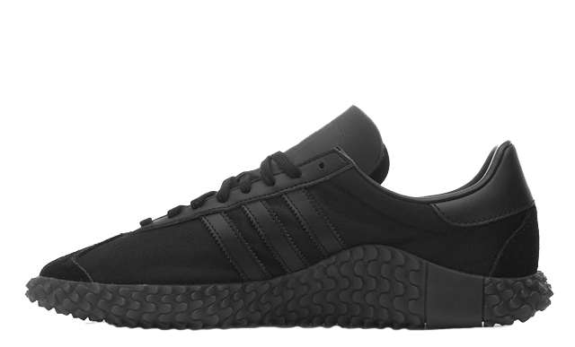 adidas Country x Kamanda Never Made Pack Triple Black EE3642