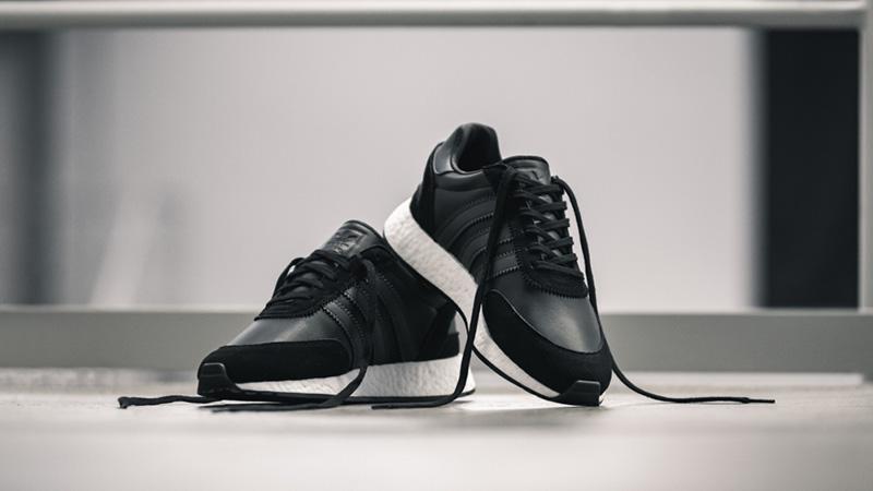 adidas i 5923 black on feet