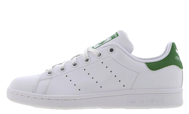 adidas Stan Smith GS White Green