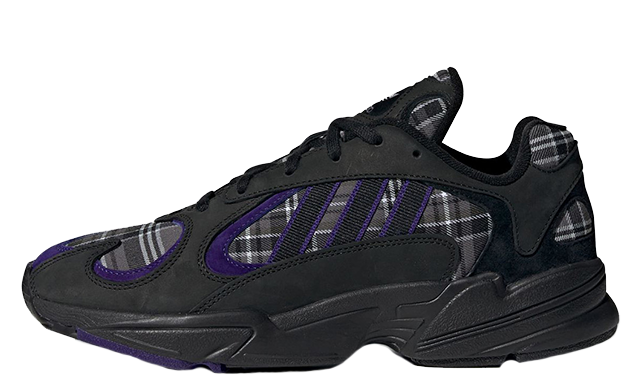 adidas Yung 1 Black Purple EF3965