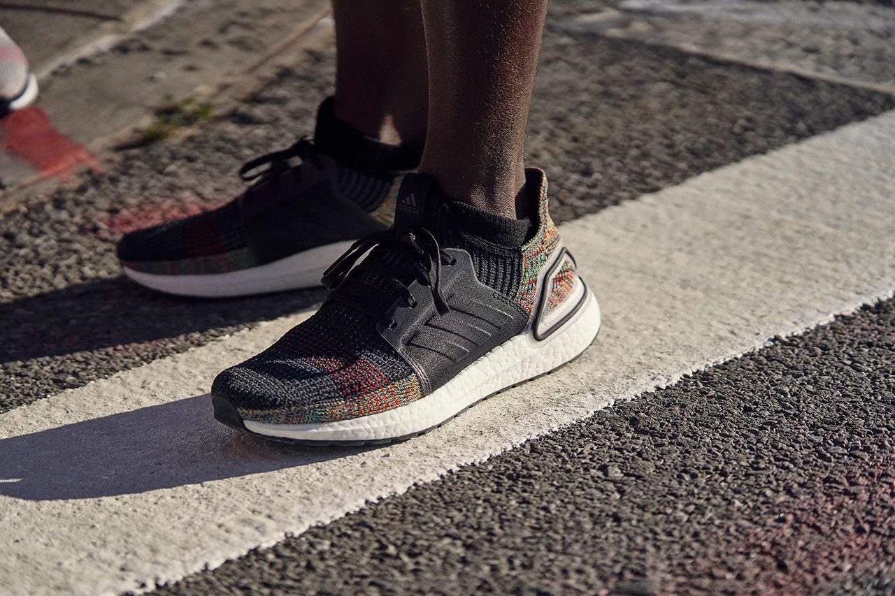 adidas Cover The UltraBoost 19 In A 'Dark Pixel' Colourway
