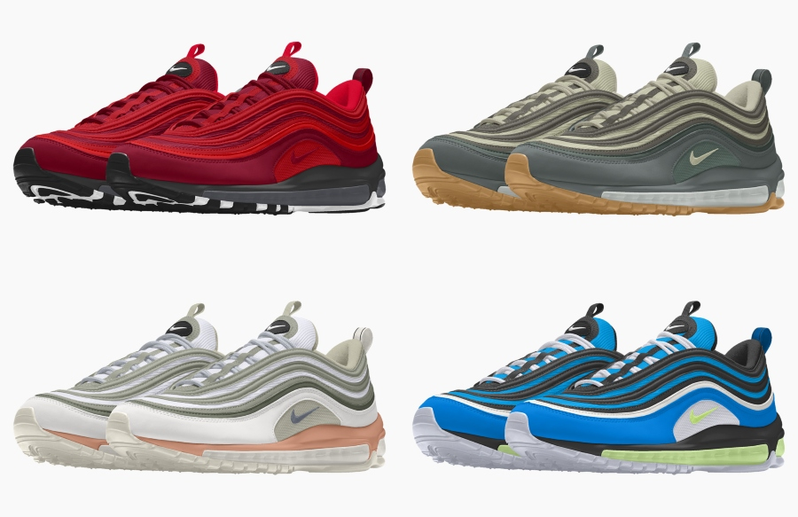 Design Your Own Air Max 97 NOW At NikeiD | The Sole Supplier