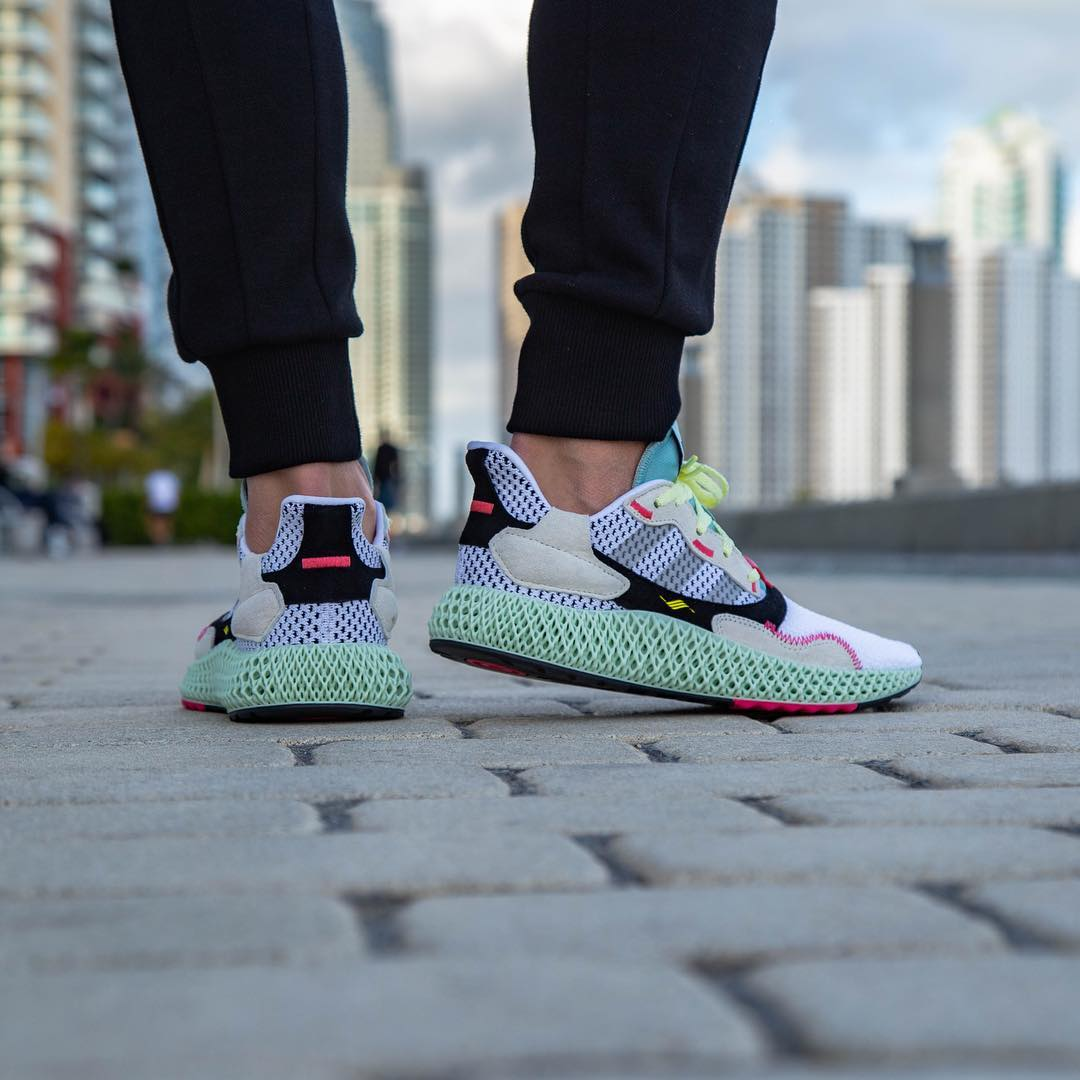 Release Reminder: adidas ZX 4000 4D I Want, I Can