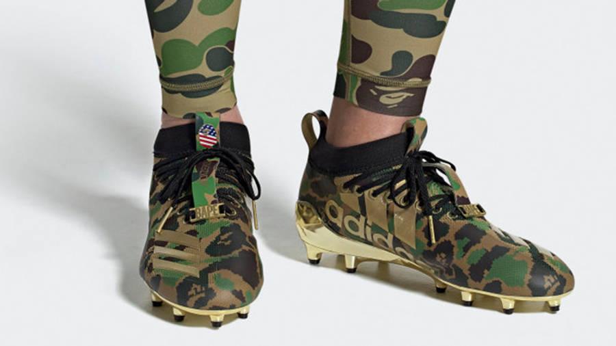 BAPE x adidas Cleats Green Camo | Where
